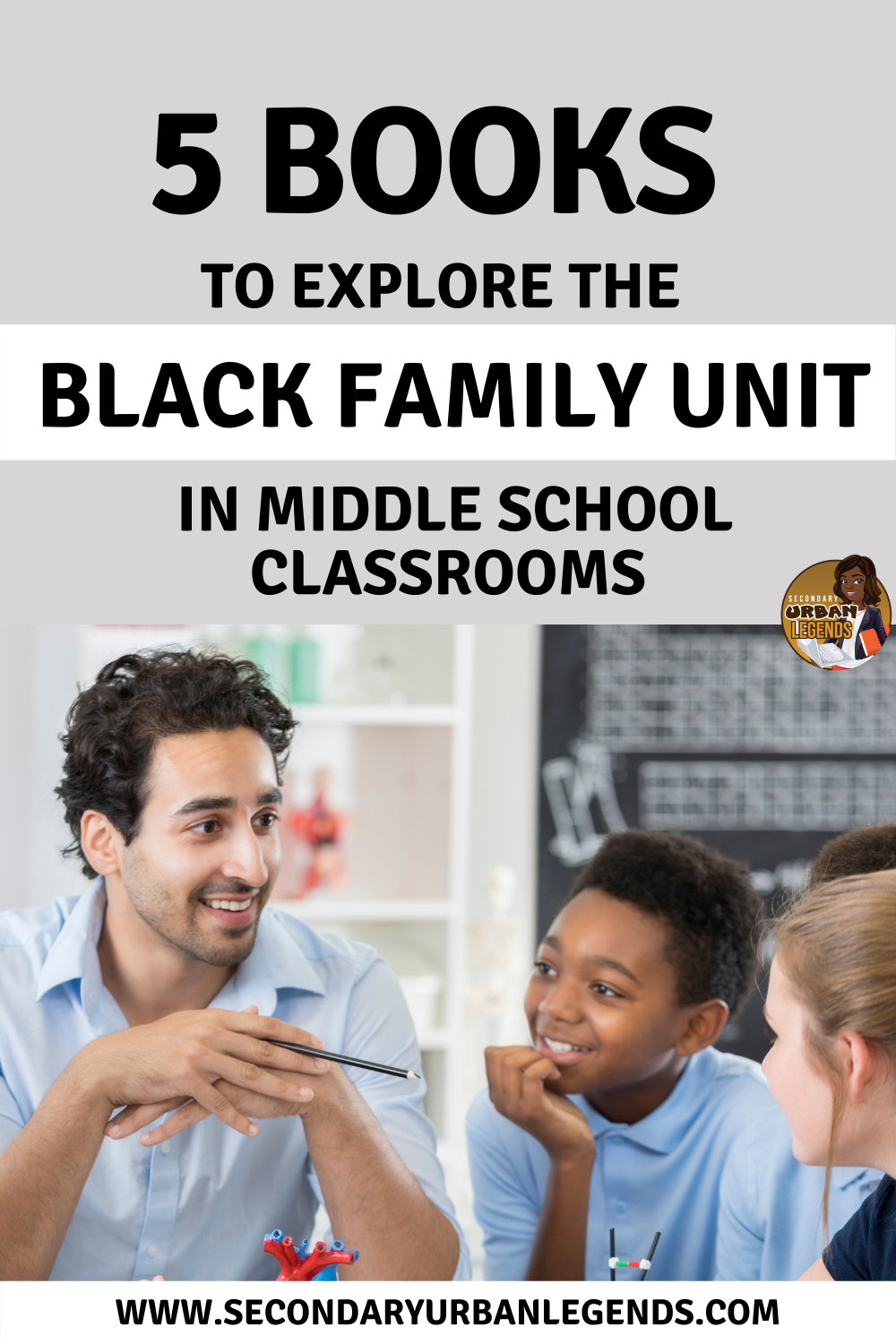 What is the black family like? Here are books that can help you explore the black family structure for your middle and high school classrooms.